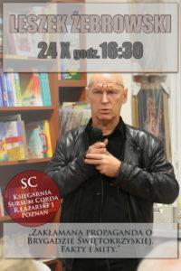 Zakłamana propaganda o Brygadzie Świętokrzyskiej. Fakty i mity. @ Rynek Łazarski 1 | Poznań | wielkopolskie | Polska