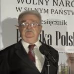 """Prof. Jerzy Robert Nowak, """"Rok 2017 – decydująca bitwa o Polskę"""" [WIDEO]"""