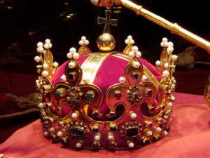 Małżeńska historia Polski Korona krzyż