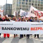 Frankowicze protestowali przed Sejmem: Państwo zostawiło nas samych sobie.