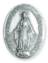 Św. Maksymilian Maria Kolbe: Przewrót majowy 1926r. i masoni medalik niepokalana
