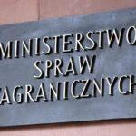 Zmiany w MSZ. Andrzej Papierz wiceministrem, Jan Dziedziczak odwołany