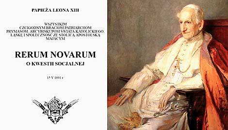 Środowe lekcje o pieniądzu: Kredyt Społeczny a Nauka społeczna Kościoła cz.II Rerum novarum