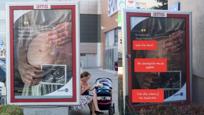 """Kampania 'odpoczatku.org', w trosce o każde dziecko. Przedstawiamy też argumentację organizacji """"feministycznych"""". Odpowiedz organizacji feministycznych na plakat CitizenGo"""