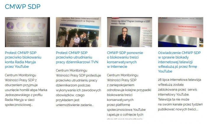 Wolność słowa w internecie: YT przywraca kanał wRealu24.tv oraz homilię abp. Jędraszewskiego. Dyskusja w Sejmie z udziałem Ordo Iuris. Cenzura w internecie stanowiska CMWP