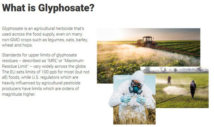 USA: Rating żywności na zawartość glifosatu. Prywatne laboratorium osiąga kolejny etap rozwoju Glifosat co to jest