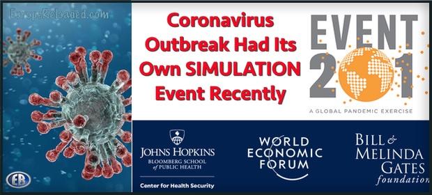 Znalezione istotniejsze informacje ws. wirusa korona [AKTUALIZACJA] Event201 logo full