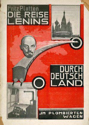Czerwony Fritz Fritz Platten Reise Lenin