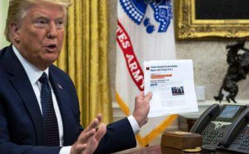 PolitykaPolska President Donald Trump sign an executive order on social media Washington Usa 28 May 2020