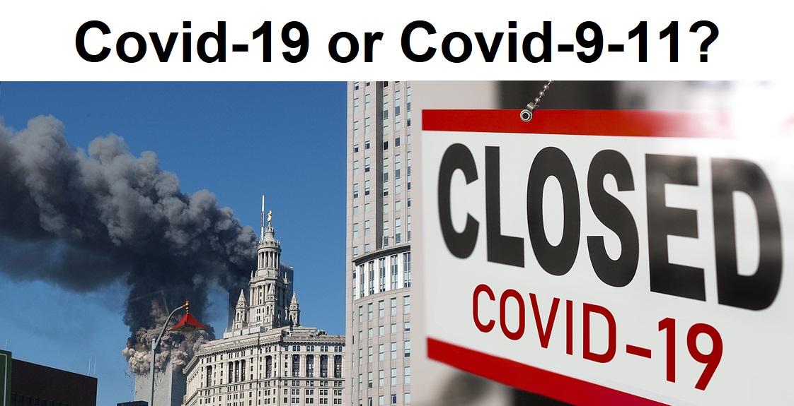 WIZJONERZY. O 11 września 2001 i Covid-19 Covid 19 or Covid 9 11