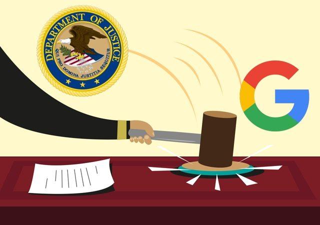 Amerykańska wolność vs. BIG TECH USA DOJ antitrust google