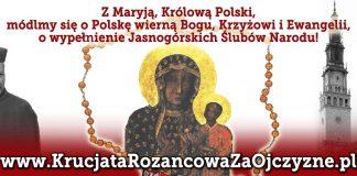 PolitykaPolska Krucjata Rozancowa Za Ojczyzne z Prymasem Wyszynskim